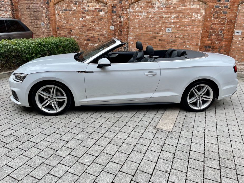 Audi A5 Cabriolet 2.0 TDI 40 S line Cabriolet S Tronic (s/s) 2dr